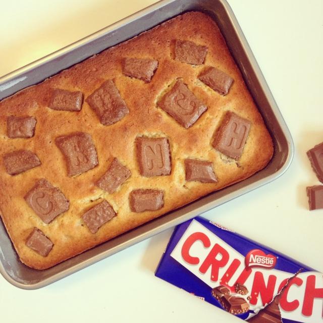 Blondies au chocolat Crunch