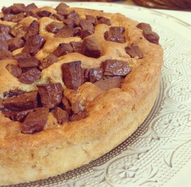 Gâteau poires/chocolat