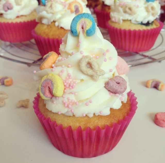 Cupcakes Lucky Charms