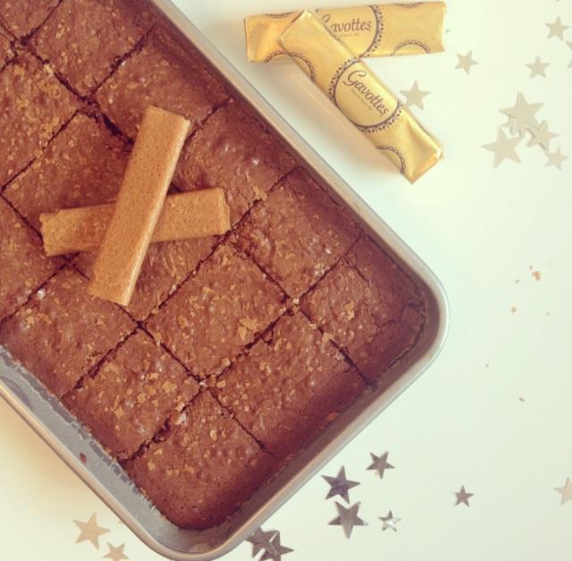 Brownies aux Gavottes