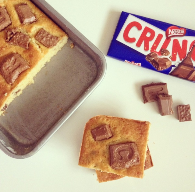 Blondies au chocolat Crunch