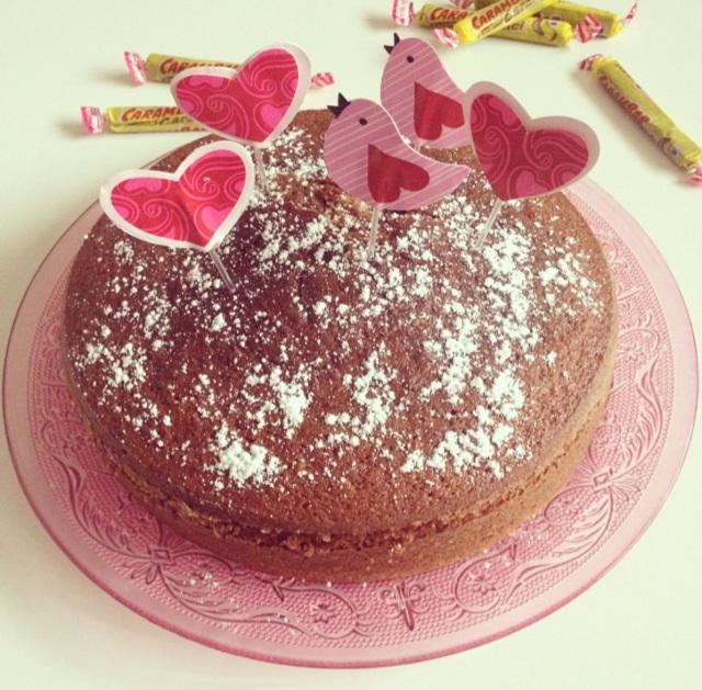 Gâteau aux Carambars