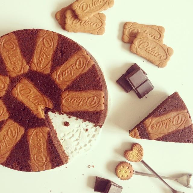Moelleux chocolat et spéculoos