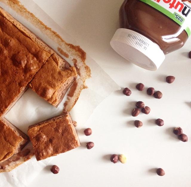 Gâteau magique à la pâte à tartiner