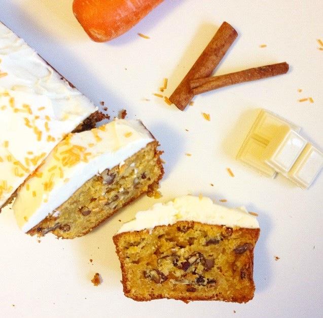 carrot cake au chocolat blanc | stephaniieluvshopping