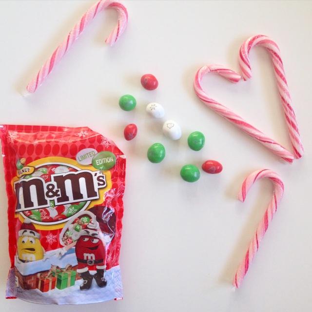 M&m's de Noël
