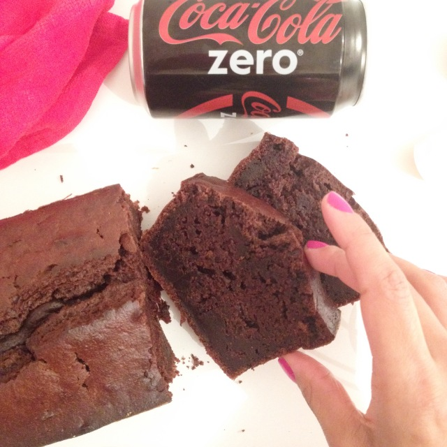 Cake au coca zéro
