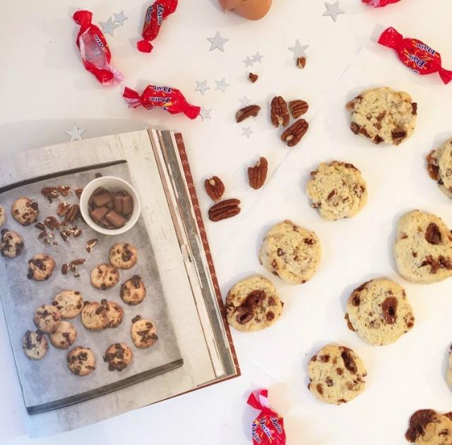 Biscuits aux noix de pécans et Daim