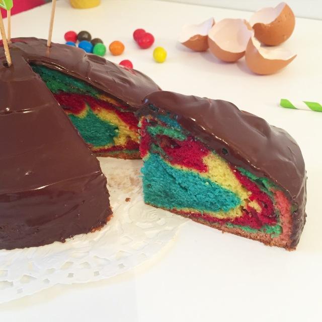 Gâteau rainbow