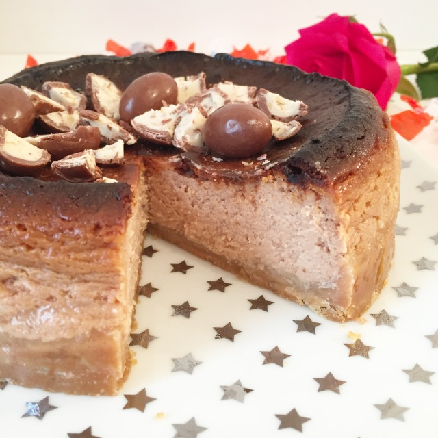 Cheesecake aux Schokobons