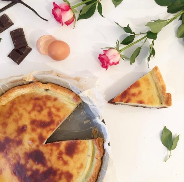 Flan pâtissier bi-goût chocolat et vanille