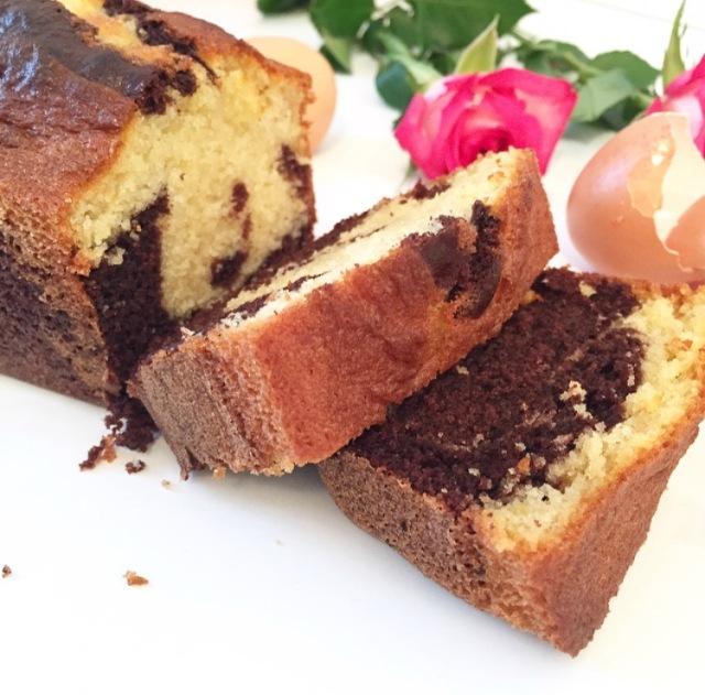 Cake au rhum et au chocolat