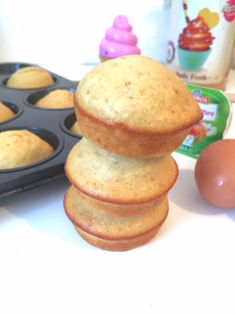 Muffins healthy à la compote (sans beurre)