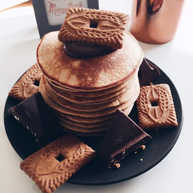 Pancakes aux Spéculoos
