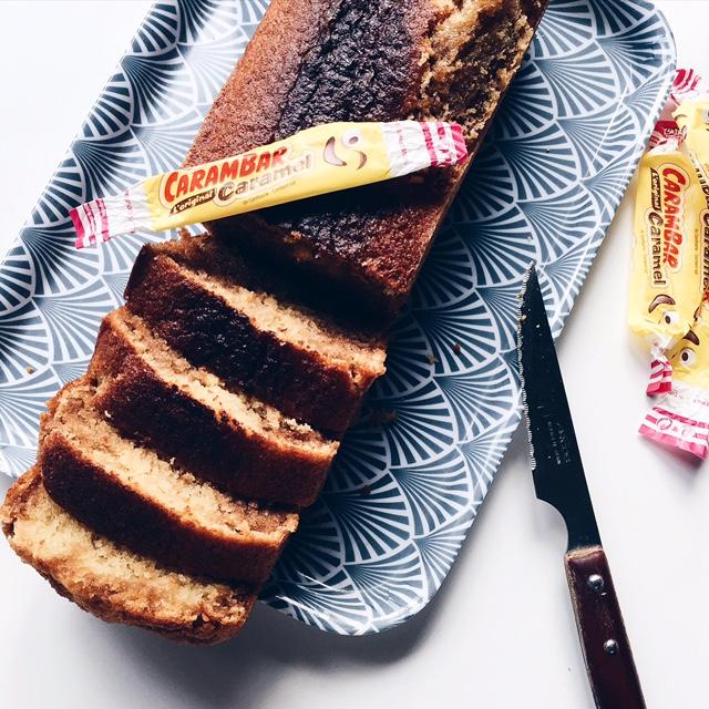 Cake Caramel et vanille