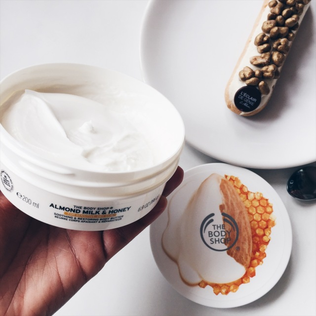 "Almond milk & honey "" The Body Shop"""