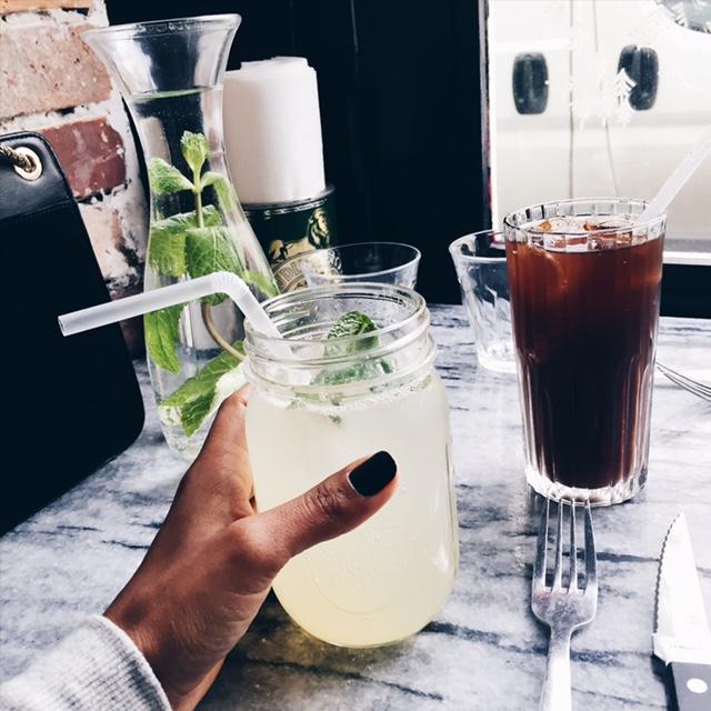 Lemonade fizz et Dr Pepper maison Restaurant PNY