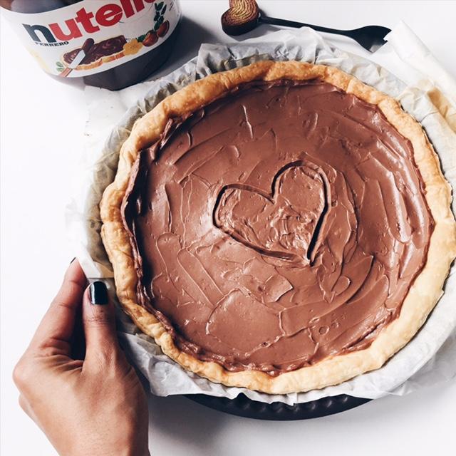 Tarte Nutella et Mascarpone